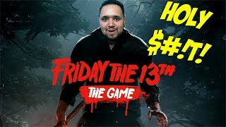 HE'S AFTER ME! | Friday The 13th: The Game