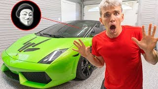 GAME MASTER RETURNED STOLEN LAMBORGHINI SHARERGHINI with TOP SECRET MYSTERY EVIDENCE CLUES INSIDE!!