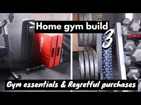 Home Gym Build // 3 | Gym Equipment For Home + Home Gym Essentials