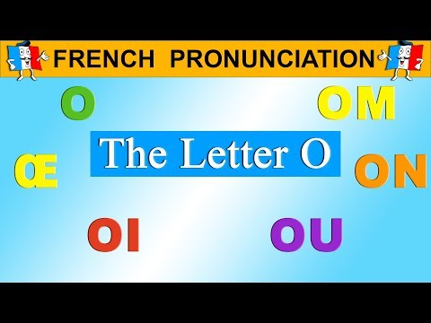 FRENCH PRONUNCIATION LESSON