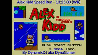 Alex Kidd in Miracle World ! WR ! Speed Run (13:25, no glitches)