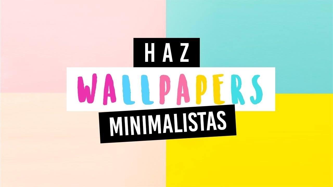 Como Crear Tu Propio Wallpaper Android Ios Youtube