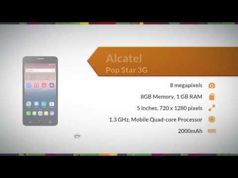 Alcatel Pop Star 3G Specifications - Daraz.pk