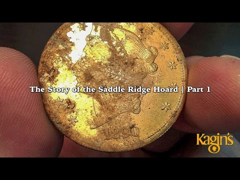 Story of the Saddle Gold Coin Treasure Part 1 of 4: How the Coins Came to Kagin's. VIDEO: 8:39
