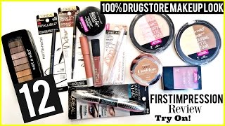 Baixar 12 NEW 2016 DRUGSTORE First Impressions Try on!!! Neutral Makeup- Talk thru