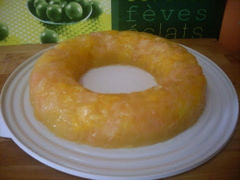 Terrine d'oranges et de pamplemousses en gelée - RECETTE FACILE
