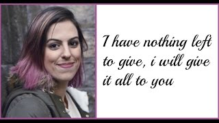 """Never Let Me Fall"" - Cimorelli (Live - Lyrics)"