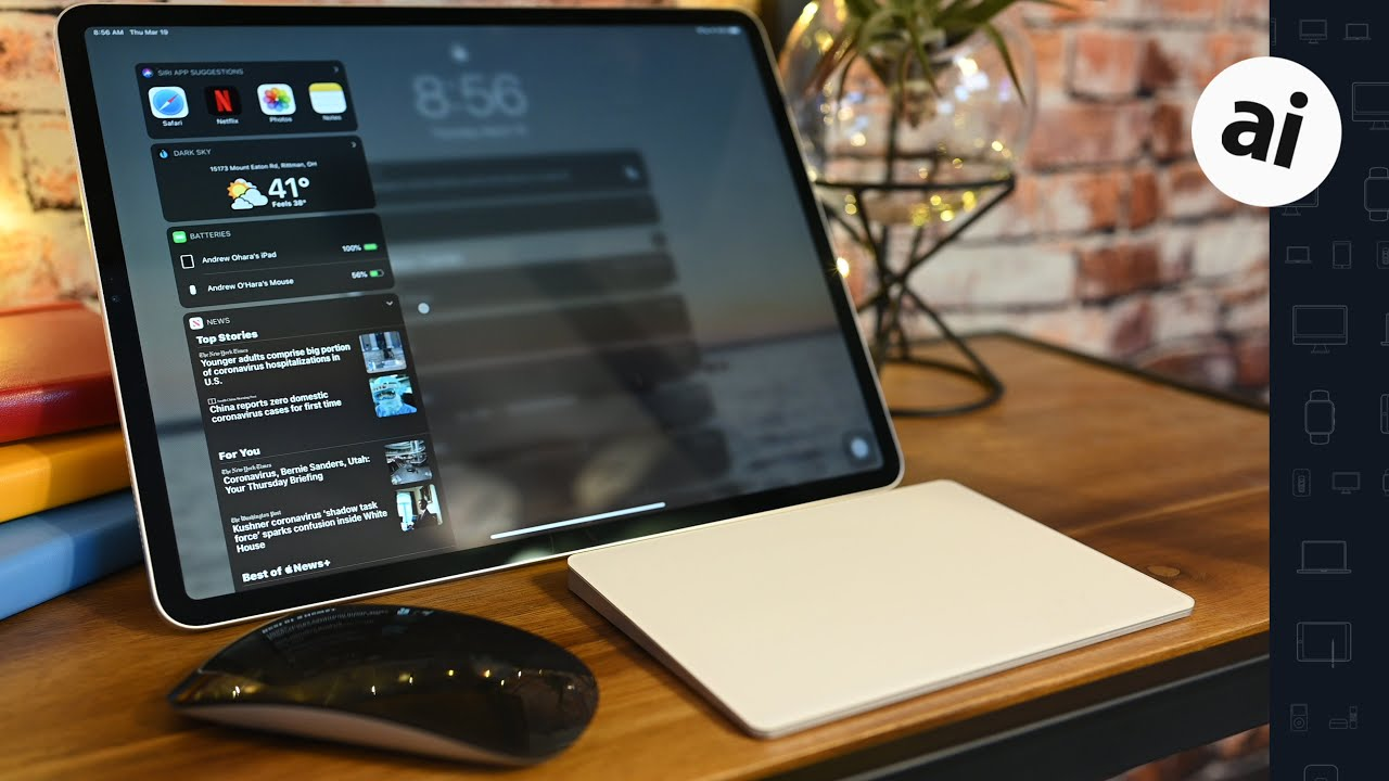 How to use a Bluetooth mouse or trackpad with iPad and iPadOS 13.4