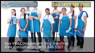 buy into Consignment King franchise