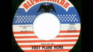 Thee Sixpence - First plane home