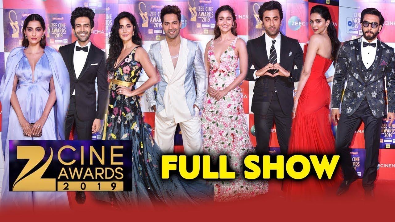 Zee Cine Awards 2019 FULL SHOW | Katrina Kaif, Varun ...