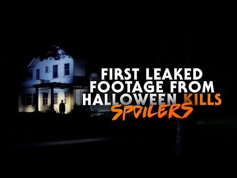 2020 Halloween Footahe First Leaked Footage from Halloween Kills (2020) | Michael Myers