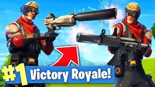 The SILENCER ONLY Challenge! (Fortnite Battle Royale)