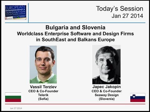 Bulgaria & Slovenia - Telerik & Seaway - Enterprise Software & Design Firms - Jan 27 2014
