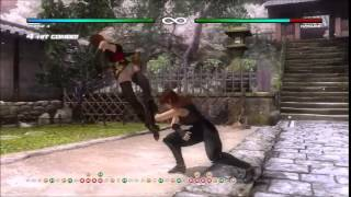 Dead Or Alive 5 Last Round - Phase 4 Combos Exhibition Best Damage