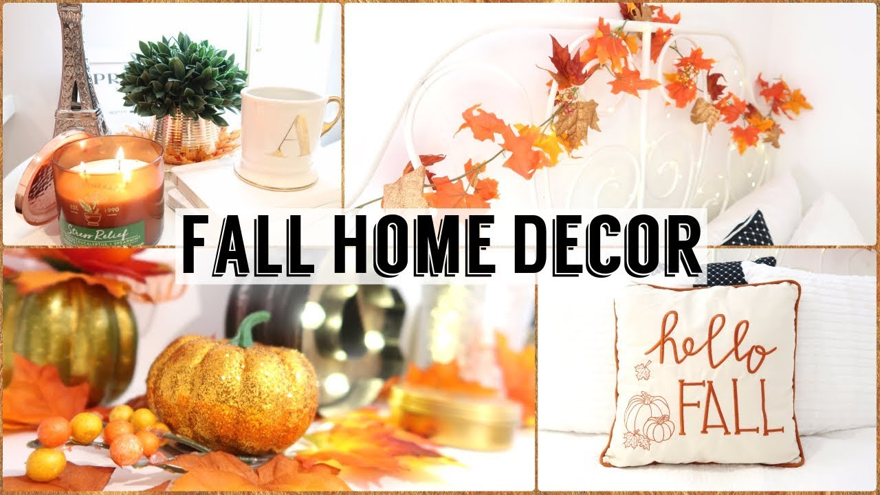 Issa vibe fall home decor haul room transformation 2017 for Room decor haul