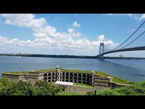 A View Of New York Harbor Like No Other From Fort Wadsworth In Staten Island, NYC