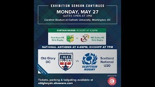 Old Glory vs Scotland U20s