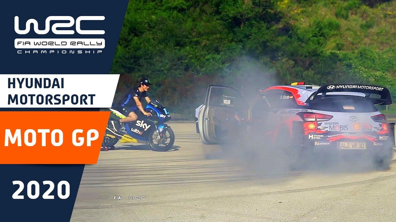 WRC 2020: WRC meets MOTO GP!