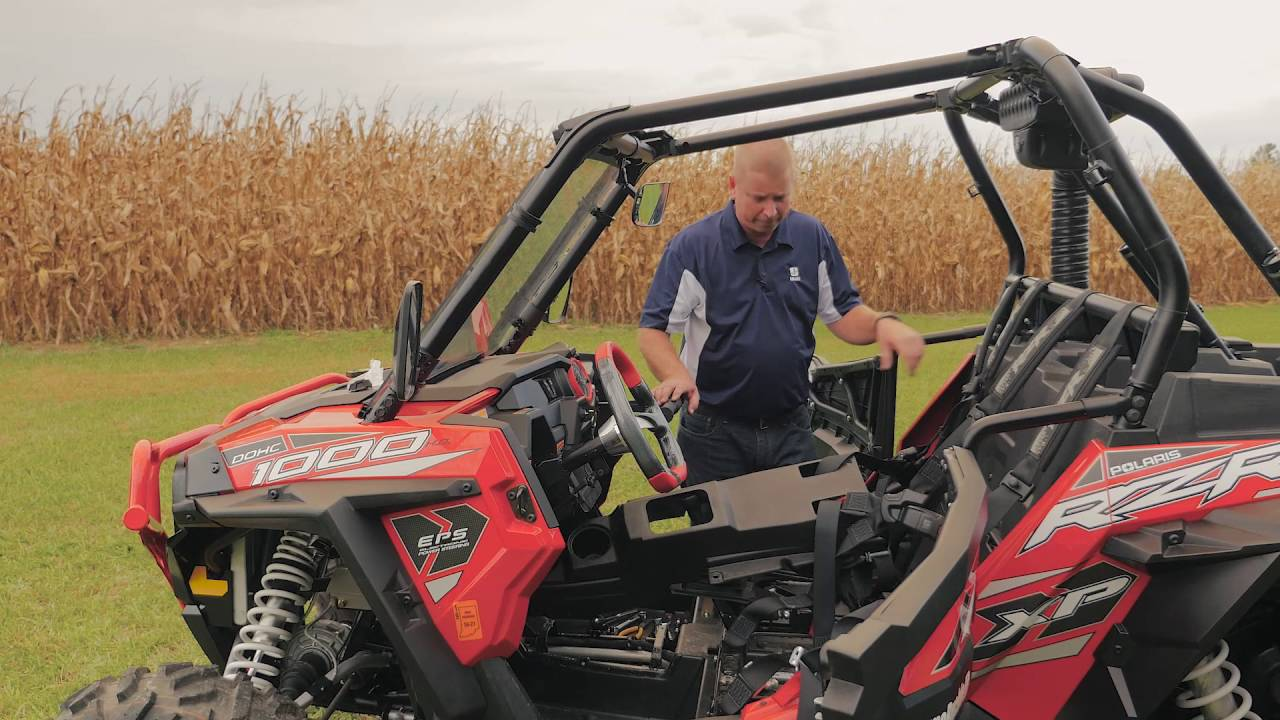 install the IMMI Click6 Harness on a RZR 1000XP - YouTube