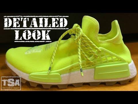 Pharrell adidas HU Human Race NMD Solar