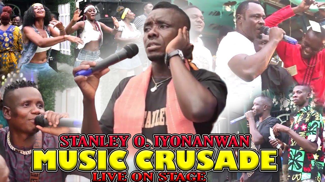 Download STANLEY O IYONANWAN - MUSIC CRUSADE [BENIN MUSIC LIVE ON STAGE]
