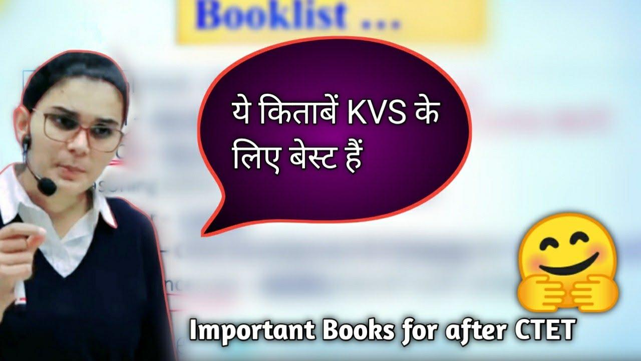 Download Best Books for KVS preparation by Himanshi mam