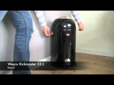 wesco kick master 33l youtube. Black Bedroom Furniture Sets. Home Design Ideas