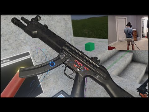 GUNS IN VIRTUAL REALITY - Hot Dogs Horseshoes & Hand Grenades HTC Vive VR Gameplay