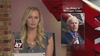 Joe Biden In Michigan Today @ www.StoryAt11.Net