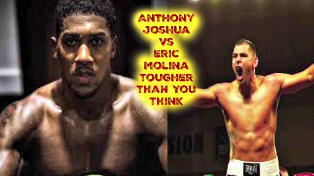 Anthony Joshua Vs Eric Molina Live