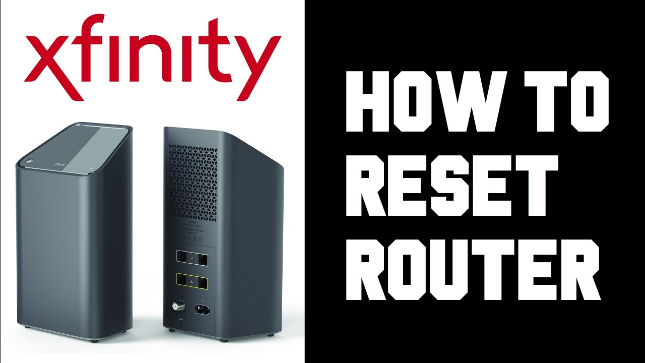 Xfinity How To Reset Router - Xfinity How To Reset Modem Wifi Internet  Instructions Guide Help