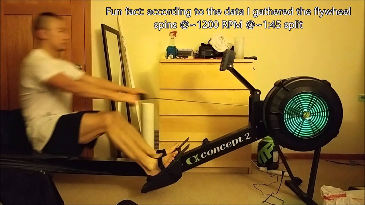 Lighting up a rowing machine (erg) with a 3W RGB LED & Lighting up a rowing machine (erg) with a 3W RGB LED - YouTube