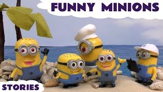Minions Funny Minions Despicable Me Stories Play Doh Thomas & Friends Kinder Surprise Eggs Cars