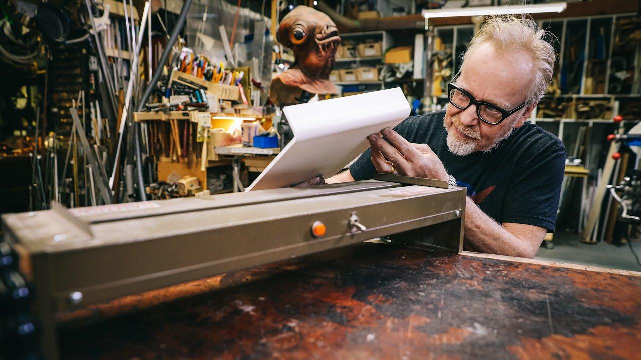 Adam Savage's Favorite Tools: Plastic Forming Strip Heater!