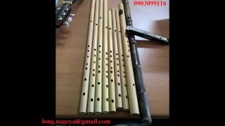 Cover Love Paradise - Bamboo Flute