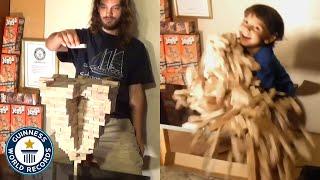 Insane Jenga tower - Guinness World Records