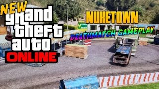 GTA 5 Online Playing With A Friend Team Deathmatch (Nuketown)