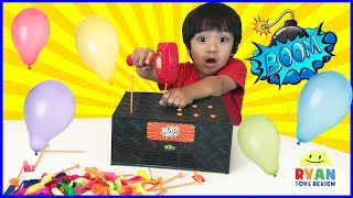 Download BLAST BOX BALLOON EXPLOSION Pop Challenge! Family Fun Egg Surprise Toys for Kids Mp3 and Videos