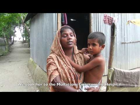 Meet Lima and Her Medical Condition in Shariatpur District