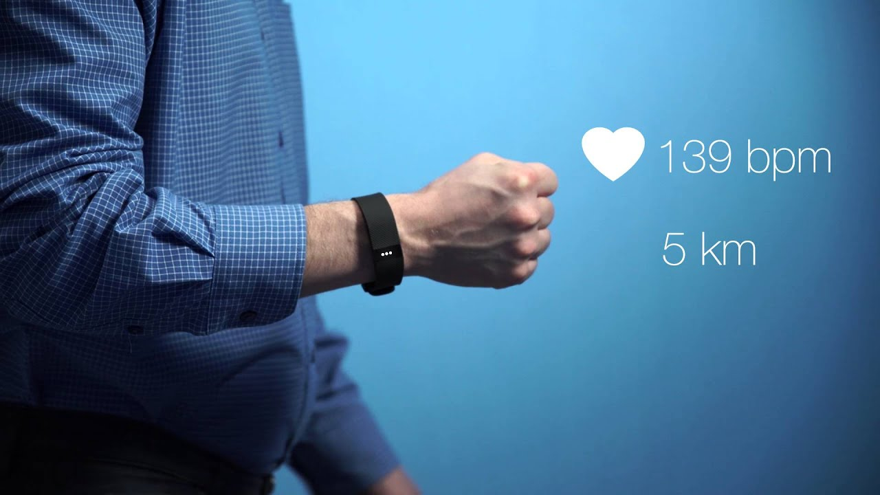 Fitbit Charge HR Large treningsklokke | Clas Ohlson