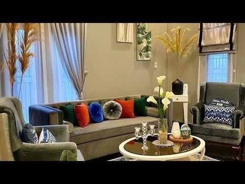 dekorasi ruang tamu minimalis - youtube