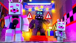 Twisted Wolf Takes Over The Pizzeria! Minecraft FNAF Roleplay