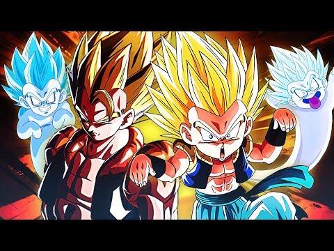 ULTIMATE FUSION TAG TEAM! LR Gogeta x Gotenks & Ghost | DBZ Dokkan Battle