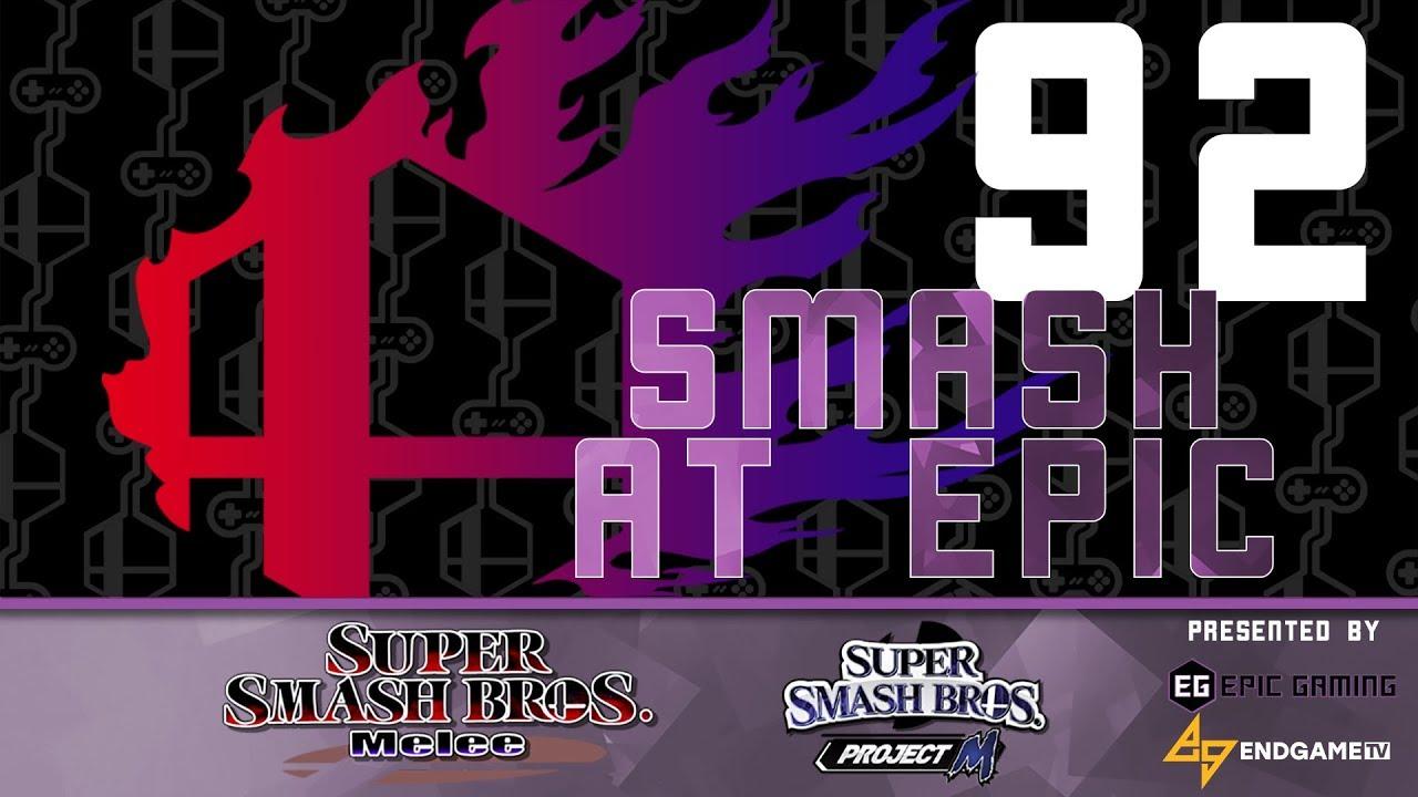 Smash At Epic 92 Winners Finals Fatgoku Vs Aura Youtube