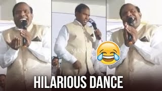 KA Paul Latest Hilarious Dance Video | KA Paul Imitates Pawan Kalyan Dance | Manastars