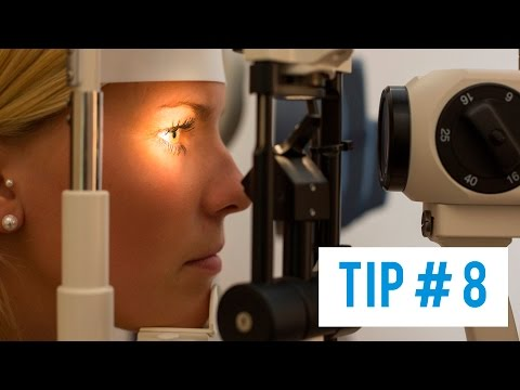 Tip # 8: What should be done in an eye emergency? / Chemicals in the Eye