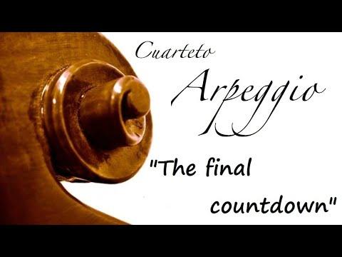 String quartet cover - The final countdown, Europe - Cuarteto Arpeggio en directo, Parador de Corias