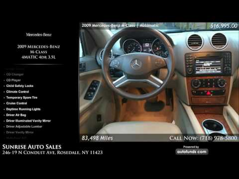 Used 2009 Mercedes-Benz M-Class | Sunrise Auto Sales, Rosedale, NY