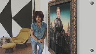 Lenny Kravitz's Home Art Obsession